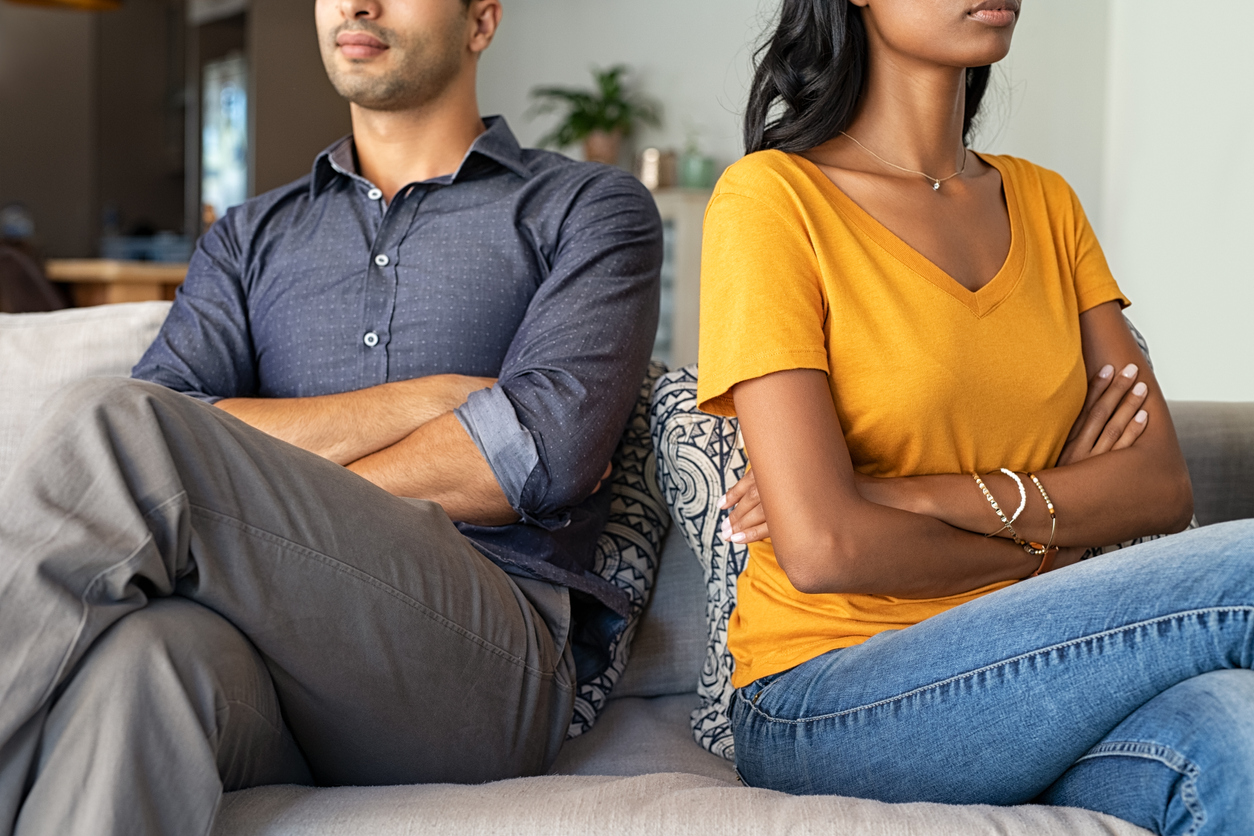 couple that is not happy, relationship problem
